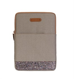 Greenish Glitter 13 inch Macbook / Laptop Kılıfı