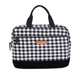 Houndstooth 15.6 inch Laptop / Macbook Çantası