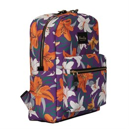 Lilies Garden BackPack 13-14 inch Sırt Laptop / Macbook ÇantasıSırt Çantaları